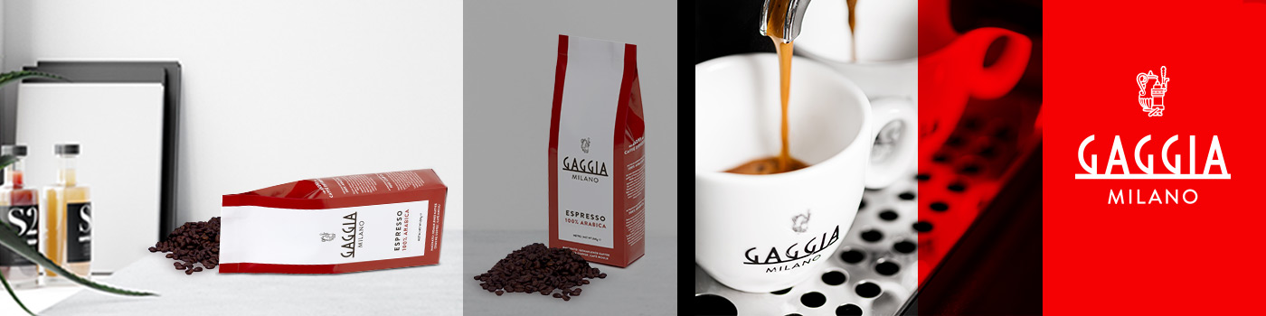 La nouvelle gamme de café Gaggia