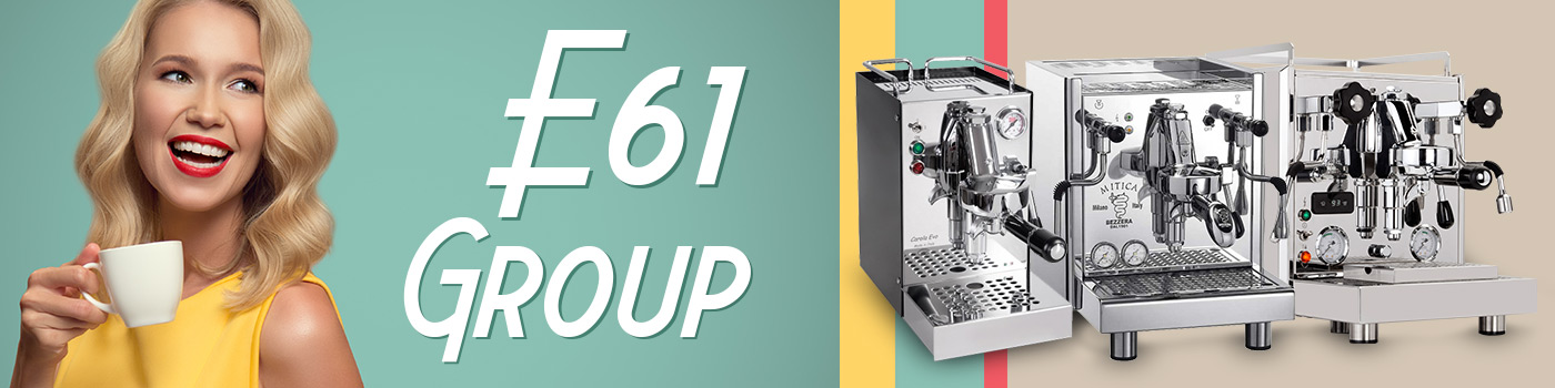 Machines à café domestiques avec groupe E61?