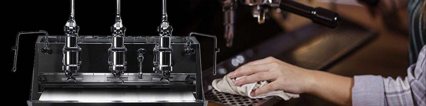 Comment nettoyer une machine à café à levier?
