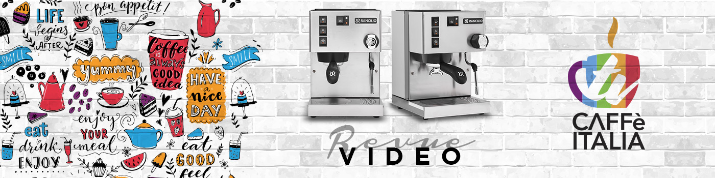 Revue vidéo Rancilio Silvia E V6 2020