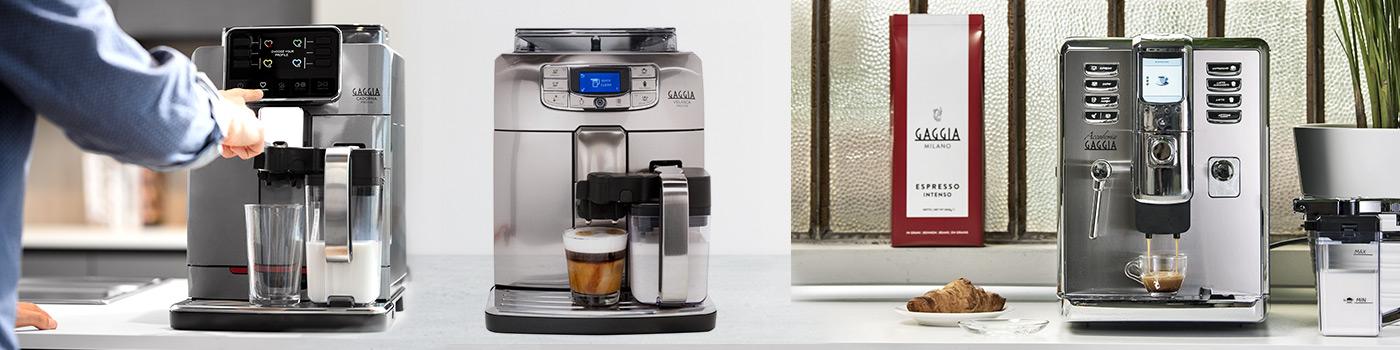 Les différentes technologies d'émulsion de lait des modèles Gaggia
